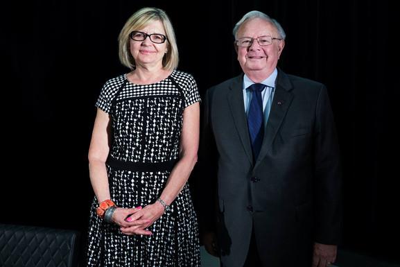 Hélène Pichette et Claude Laverdure