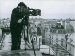 Michel La Veaux sur le toit de l'hôtel La Louisiane