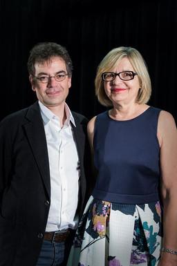 Stéphane Roussel et Hélène Pichette