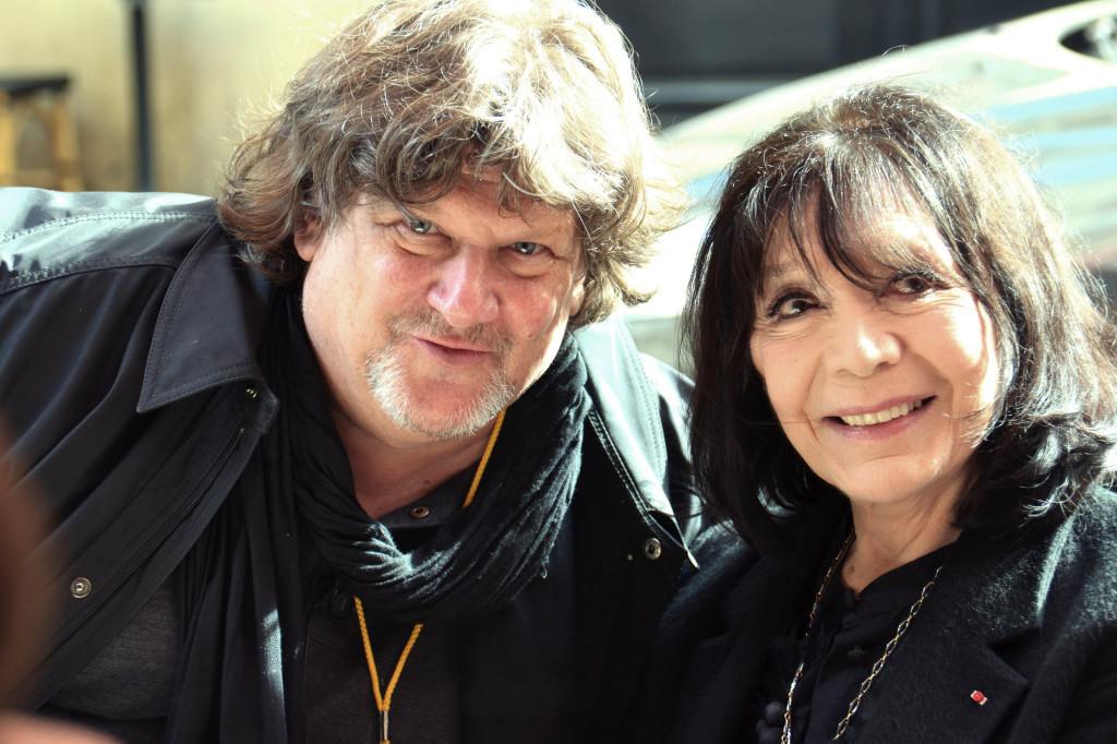 Michel La Veaux et Juliette Gréco