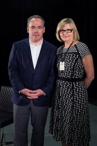 Paul Wells et Hélène Pichette