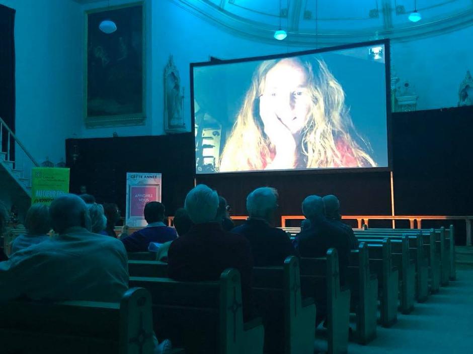 Entrevue Skype avec Julie Bertuccelli lors de la projection de DERNIÈRES NOUVELLES DU COSMOS