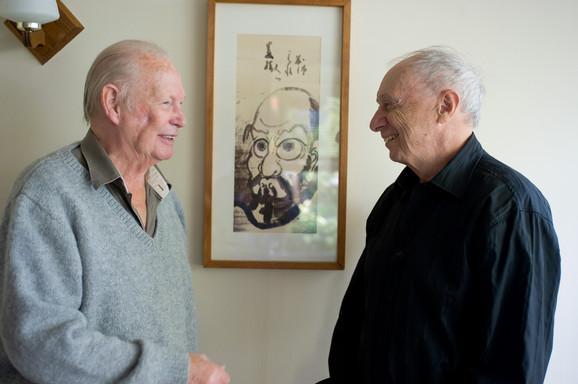 Albert Low & Fernand Dansereau