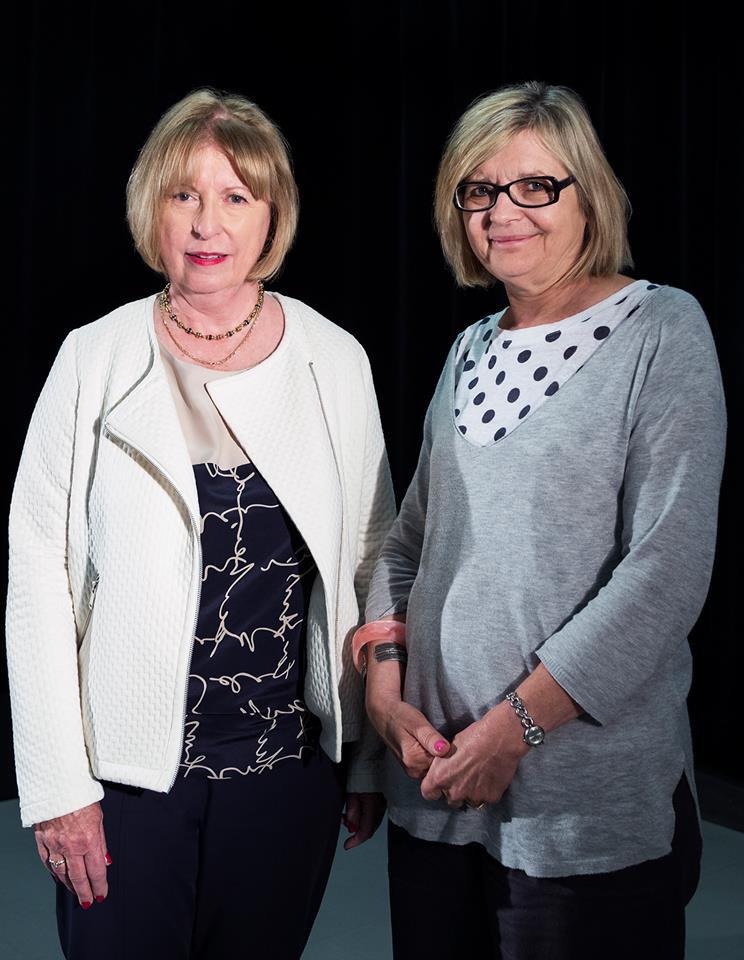 Anne-Marie Bourcier et Hélène Pichette