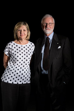 Hélène Pichette et Robert Fowler