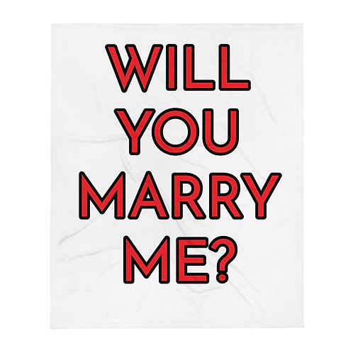 Proposal Throw Blanket