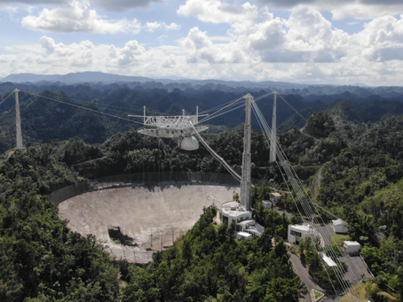 The Name's Observatory… Arecibo Observatory: Iconic Arecibo Observatory is Decommissioned