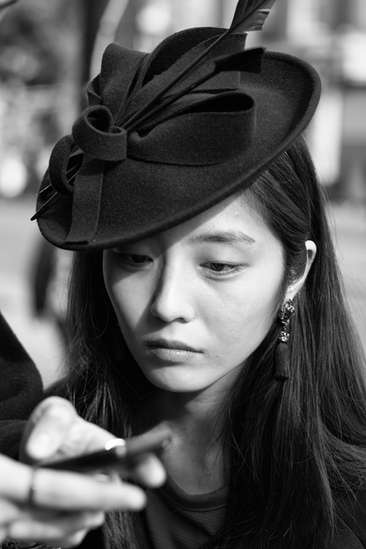 The Korean girl (Londres, 2015)