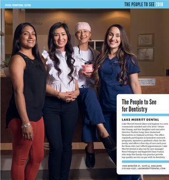 People to See For Dentistry - Lake Merritt Dental 2018