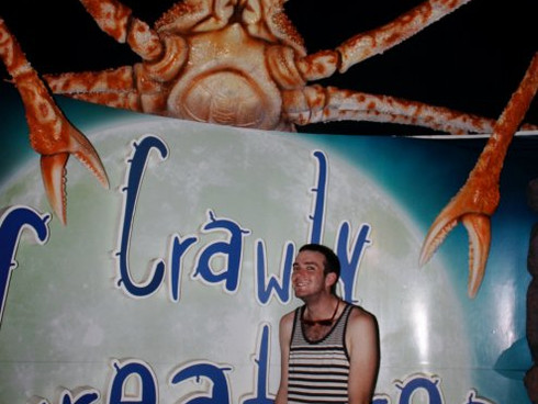 Me and Crabby the early years...