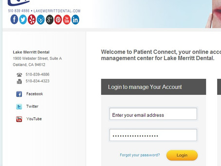 Lake Merritt Dental Brings Patients Online Account Access