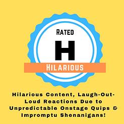 Blue Orange Hilarious Rating Badge.png
