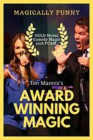 Tim Mannix - Award Winning Magic Graphic