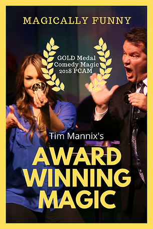 Tim Mannix - Award Winning Magic Graphic