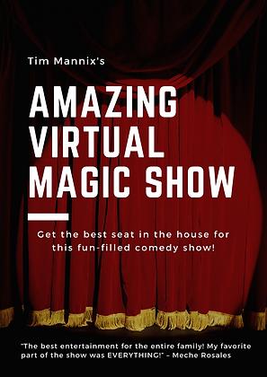 Red Curtain Theatre - Zoom Virtual Magic