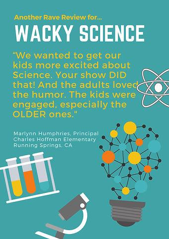 Wacky Science Testimonial, Hoffman Eleme