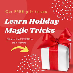 Learn Holiday Magic Tricks FREE  Christm