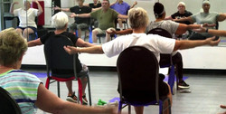 Champaign Fitness Center Chair Yoga