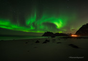 Playa Uttakleiv, Islas Lofoten