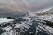 Vikten Beach, Lofoten Island