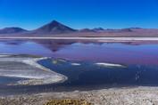 Amanecer en Laguna Colorada, RN Eduardo Avaroa