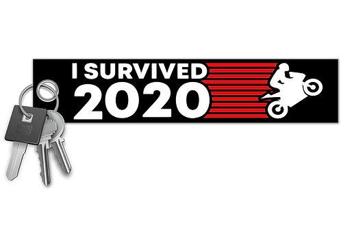 I Survived 2020 Key Tag