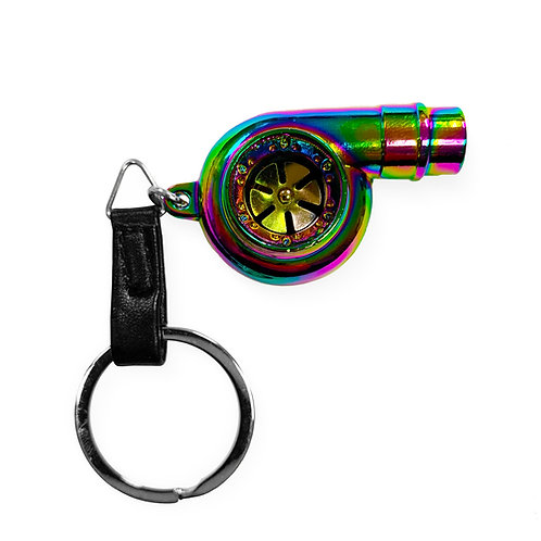 Spinning Turbo Charger Keychain