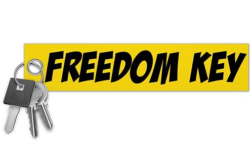 Freedom Key Key Tag