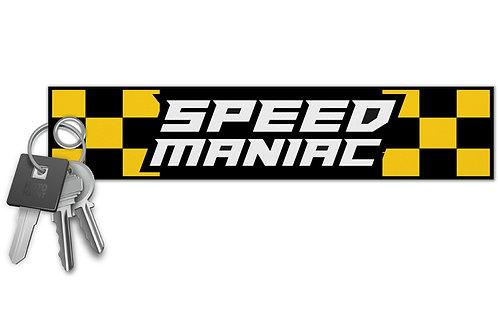 Speed Maniac Key Tag