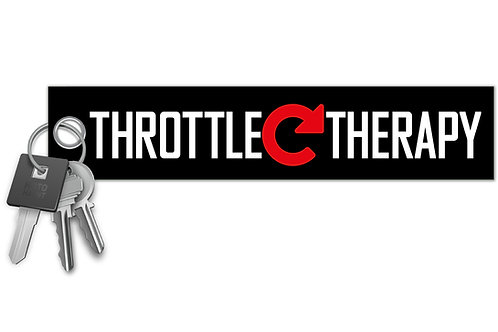 Throttle Therapy Key Tag