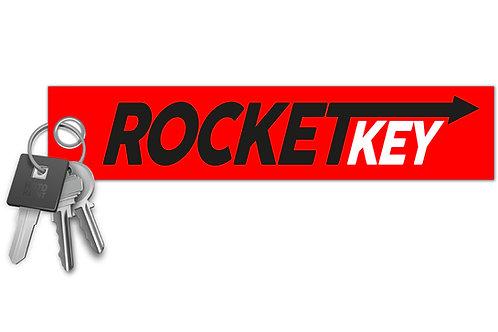Rocket Key Key Tag
