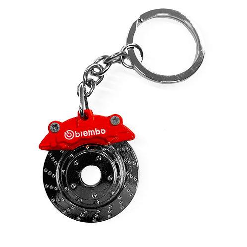 Brake Disc Caliper Keychain