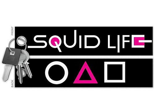 Squid Life Key Tag