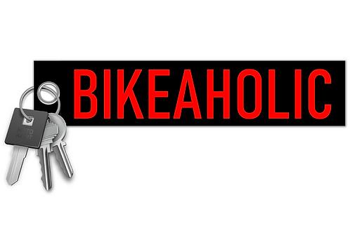 Bikeaholic Key Tag