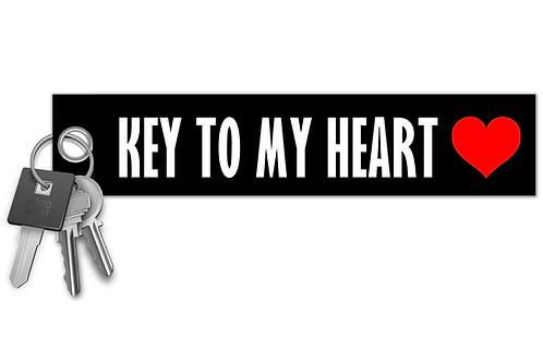 Key To My Heart Key Tag