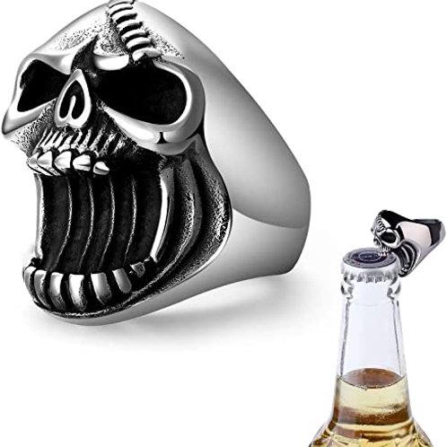 Skull Bottle Opener Ring