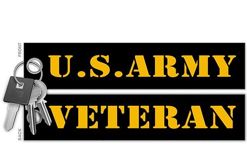 U.S. Army Veteran Key Tag