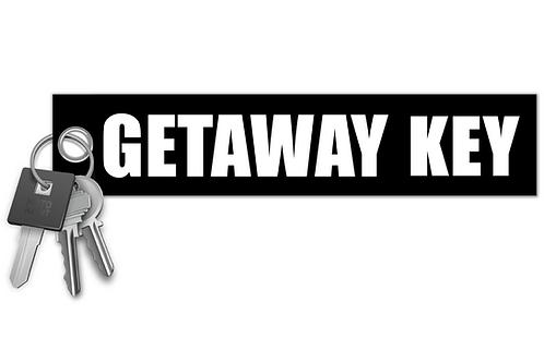 Getaway Key Key Tag