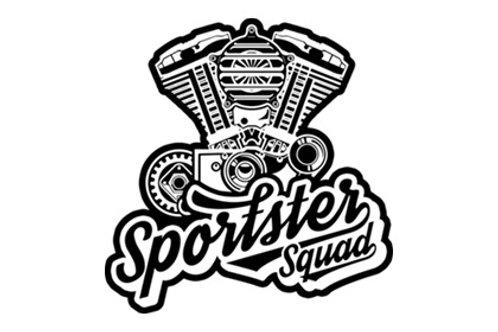 Sportster Squad Sticker
