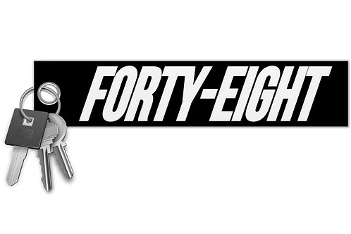 Forty - Eight Key Tag