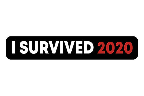 I Survived 2020 Sticker