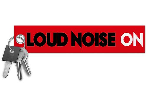 Loud Noise On Key Tag
