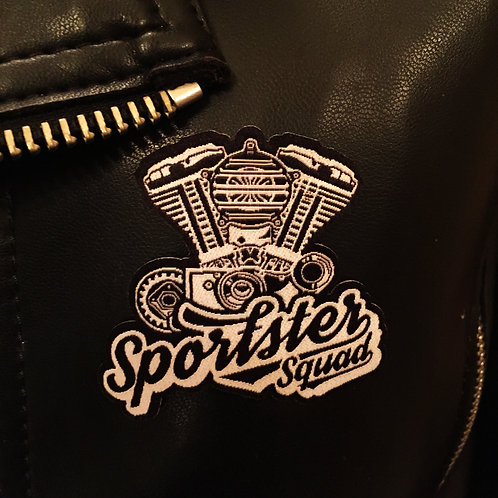 Sportster Squad Embroidery Patch