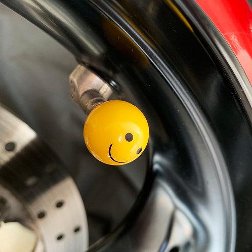 Smile Emoji Valve Cap
