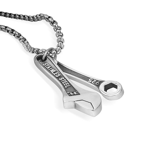 Biker Tool Kit Necklace