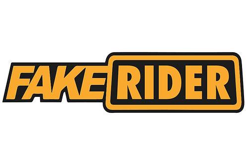 Fake Rider Sticker