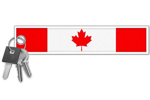 Canada Flag Key Tag