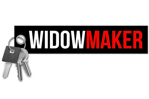 Widow Maker Key Tag