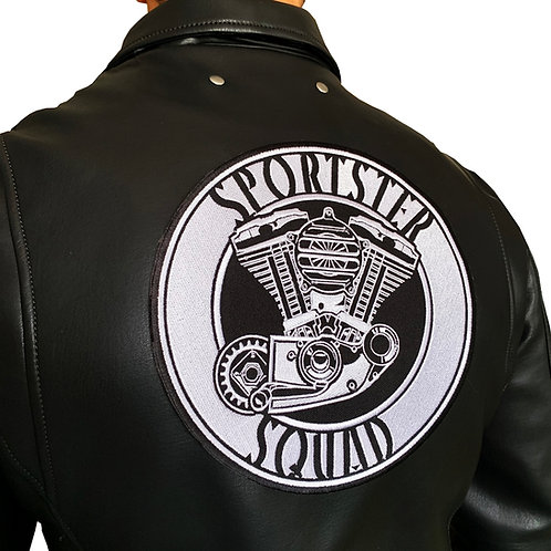 Sportster Squad Classic Large Back Patch