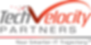 TechVelocity Partners brand identity, developed by MarketPower -- Information technology branding logo tagline